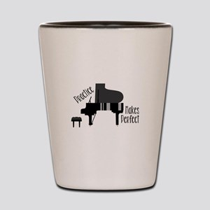 Piano Practice Shot Glass