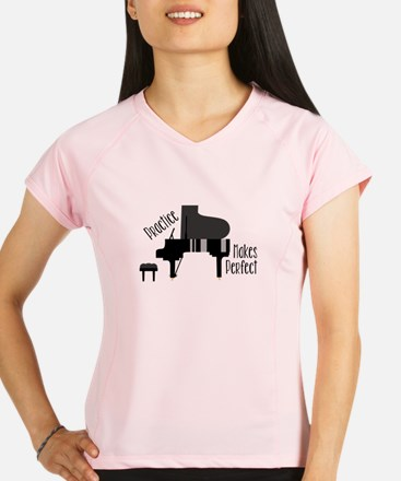 Piano Practice Performance Dry T-Shirt