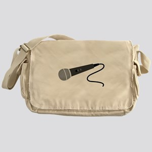 Microphone Messenger Bag