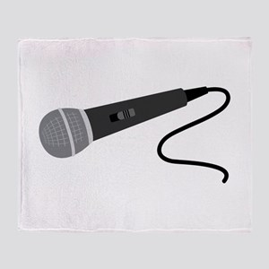Microphone Throw Blanket