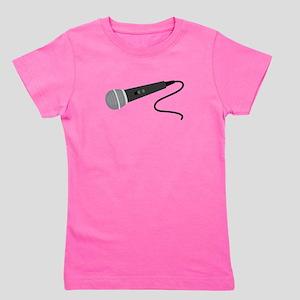 Microphone Girl's Tee