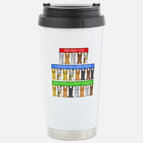 Speedy recovery from knee replacement surgery Mugs