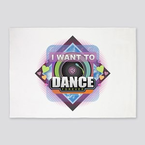 Dance Forever 5'x7'Area Rug