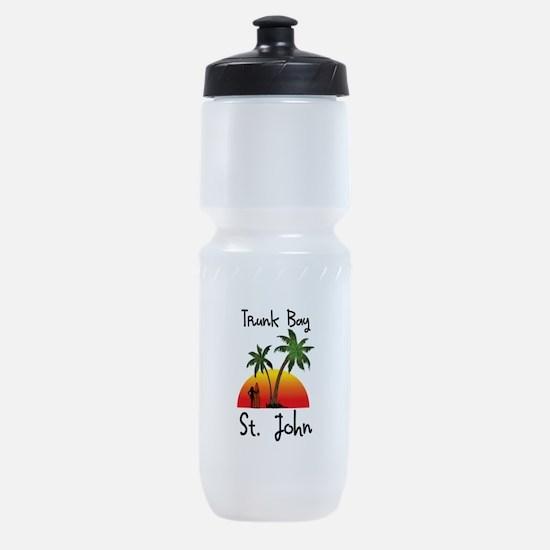 Trunk Bay St. John Sports Bottle