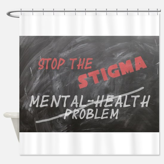 Stop the Stigma Shower Curtain