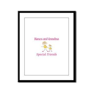 Bianca & Grandma - Friends Framed Panel Print