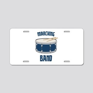 Marching Band Aluminum License Plate
