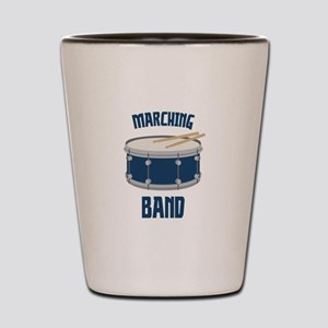 Marching Band Shot Glass