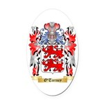 O'Tierney Oval Car Magnet