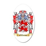 O'Tierney 20x12 Oval Wall Decal