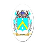 Othon 35x21 Oval Wall Decal