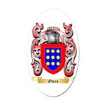 Otero Oval Car Magnet