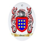 Otero Oval Ornament