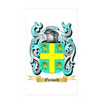 Oszwold Sticker (Rectangle 50 pk)