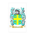 Oswill Sticker (Rectangle 50 pk)