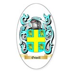 Oswill Sticker (Oval 10 pk)