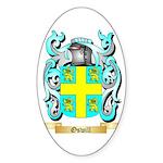 Oswill Sticker (Oval 50 pk)