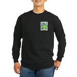 Oswell Long Sleeve Dark T-Shirt