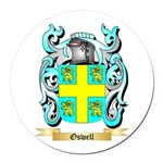 Oswell Round Car Magnet