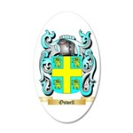 Oswell 20x12 Oval Wall Decal