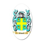 Oswell 35x21 Oval Wall Decal