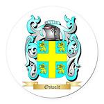 Oswalt Round Car Magnet