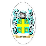 Oswalt Sticker (Oval 50 pk)
