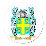 Oswald Round Car Magnet