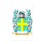 Oswald Sticker (Rectangle 50 pk)