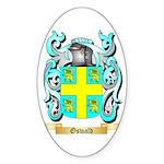 Oswald Sticker (Oval 10 pk)