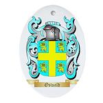 Oswald Oval Ornament