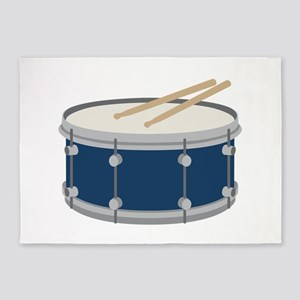 Snare Drum 5'x7'Area Rug