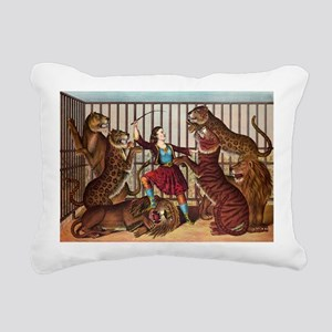 circus art Rectangular Canvas Pillow
