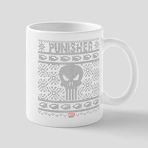 punisher ugly christmas Mug
