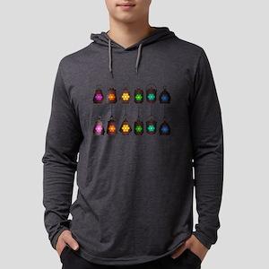 Assorted Rainbow Lanterns Long Sleeve T-Shirt