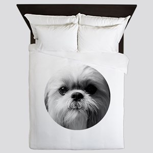 Shih Tzu Photo Queen Duvet