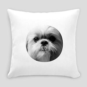 Shih Tzu Photo Everyday Pillow