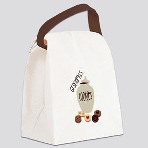 Grandmas Cookies Canvas Lunch Bag
