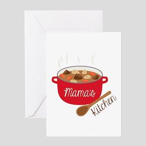 Mamas Kitchen Greeting Cards