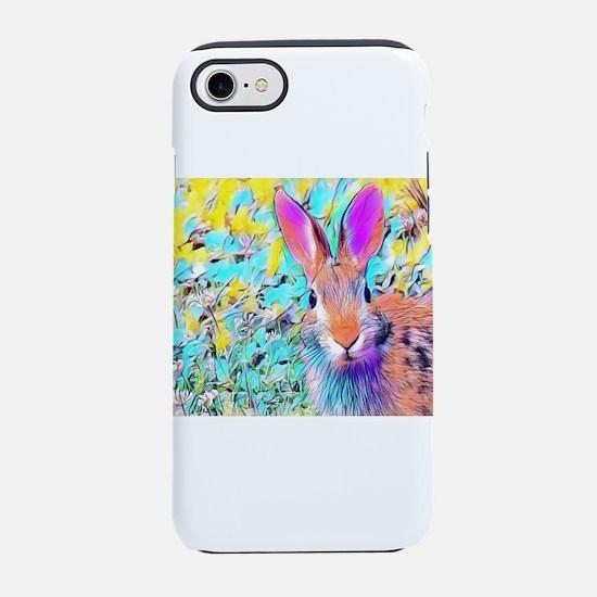 Bunny Rabbit iPhone 8/7 Tough Case
