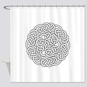 knot 13 Shower Curtain