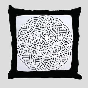 knot 13 Throw Pillow