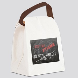 Stop the Stigma Canvas Lunch Bag