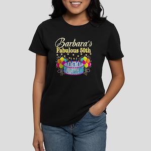 FUN 50TH BIRTHDAY Womens Dark T Shirt