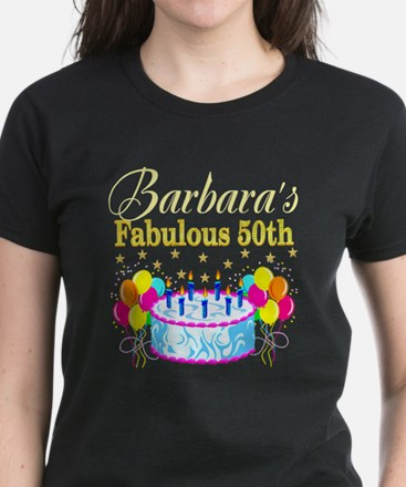 FUN 50TH BIRTHDAY Women's Dark T-Shirt