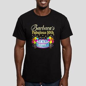 FUN 50TH BIRTHDAY Men's Fitted T-Shirt (dark)