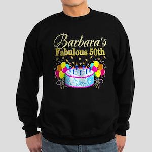 FUN 50TH BIRTHDAY Sweatshirt (dark)