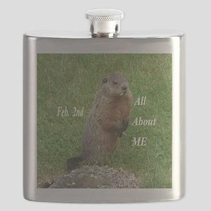 Groundhog Day Flask
