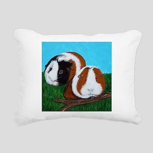 Cutie & Cuddle Rectangular Canvas Pillow