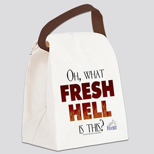 Frasier: Oh What Fresh Hell? Canvas Lunch Bag